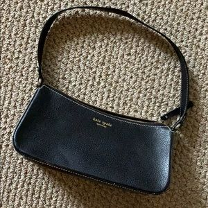 Classic black Kate spade purse